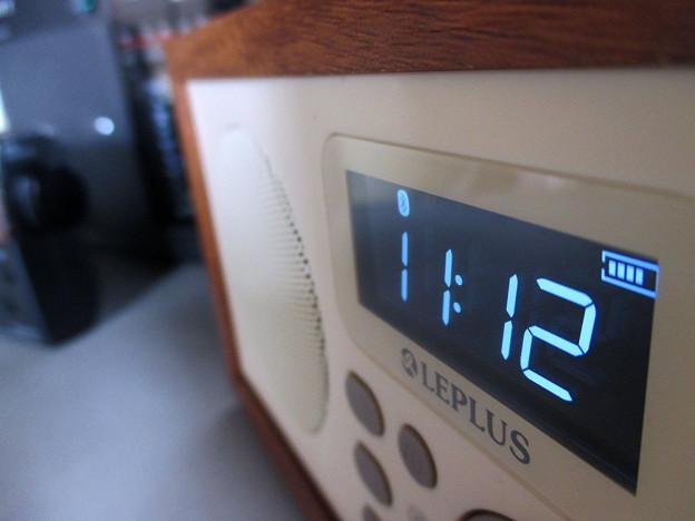 FMラジオ付きブルートゥーススピーカー