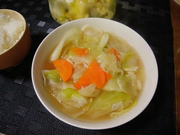 野菜たっぷりスープ餃子
