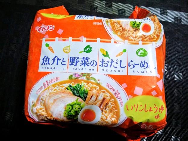 イトメン 魚介と野菜のおだしのらーめん いりこしょうゆ