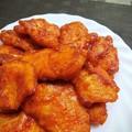 鶏胸肉のポークチャップ