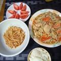 Photos: 鶏むね肉の鶏ちゃん風炒め