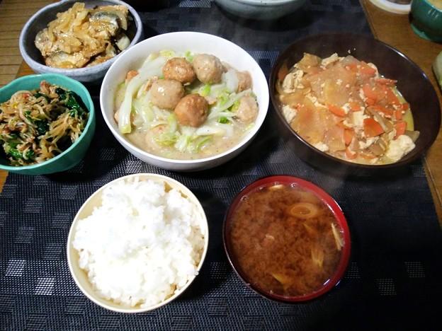 白菜のクリーム煮定食