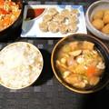 Photos: けんちん汁定食