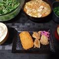 Photos: 野菜多めの夕飯