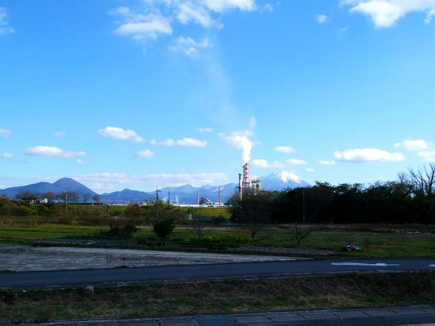 米子市某所から見た国立公園大山