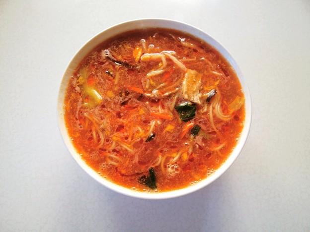 マルハニチロ 酸辣湯麺 04