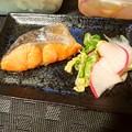 Photos: 定塩鮭と自家製切漬け
