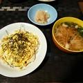 ちらし寿司と自家製ガリと煮麺