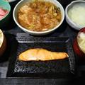 Photos: 塩鮭定食