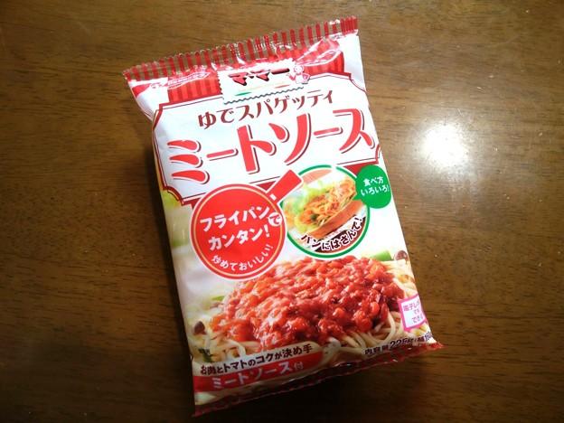 マ・マー ゆでスパゲッティー ミートソース