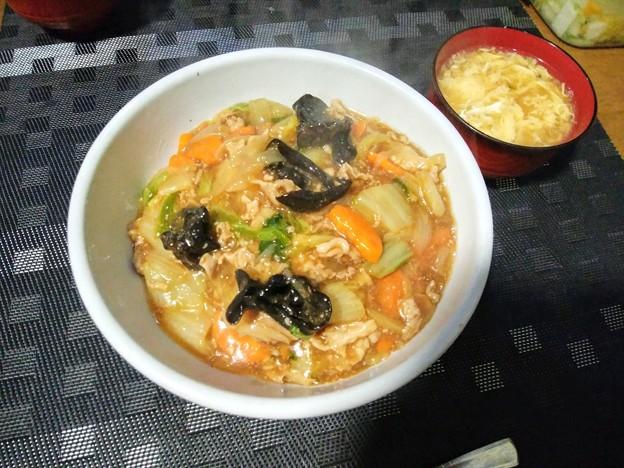 白菜のうま煮丼