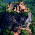 写真: Front of Sigiriya Rock