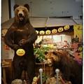 写真: ハロウィンでクマ~