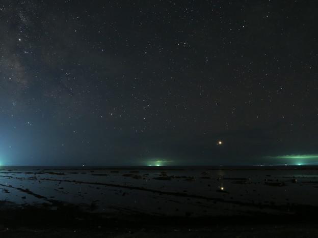 鵜ノ崎星景8月12日 秋田のウユニ塩湖