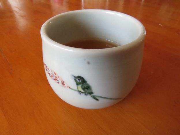 お茶をどうぞ♪