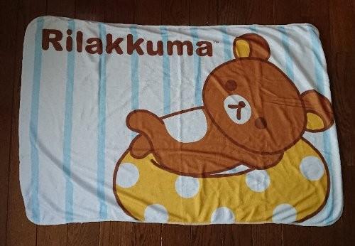ジョーシン Rilakkuma 夏のブランケット