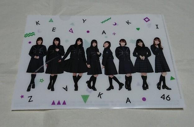 ローソン限定 欅坂46クリアファイル
