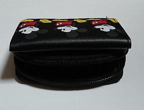 mini X-girl特製 ミッキーマウス 超コンパクト 三つ折り財布