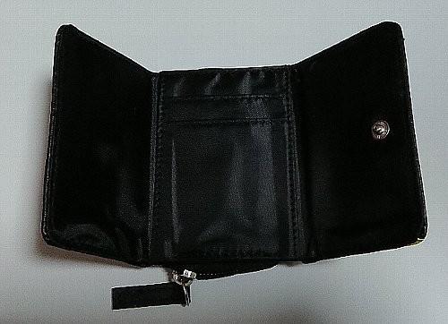 Photos: mini X-girl特製 ミッキーマウス 超コンパクト 三つ折り財布