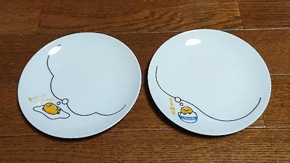 ローソン ぐでたま のせてみて小皿2枚セット