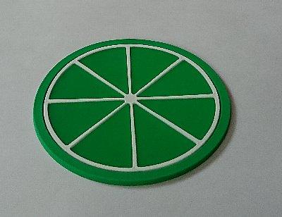 シリコンコースター フルーツデザイン