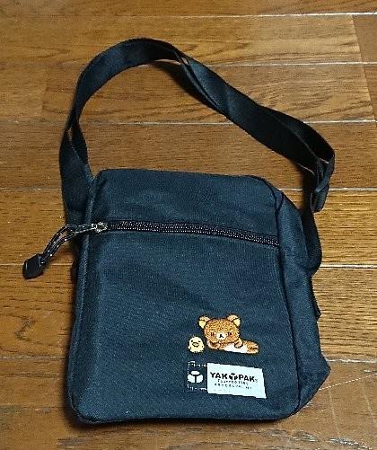 ローソン・HMV&BOOKS限定 リラックマ×YAK PAK SHOULDER BAG BOOK BLACK ver.