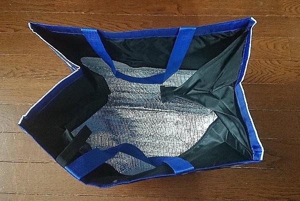 ローソン スヌーピー 買い物かご用保冷バッグ