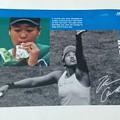 Photos: 錦織圭選手、大坂なおみ選手 限定オリジナルクリアファイル