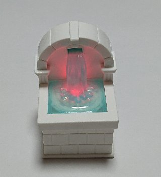 ライトアップ噴水マスコット
