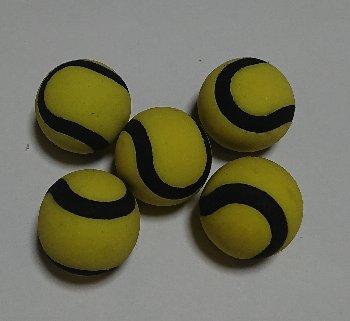 テニスボール消しゴム