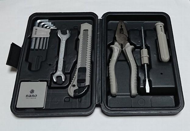 Photos: MonoMax ナノ・ユニバース 工具セット