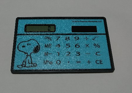 SPRiNG SNOOPY お金が貯まる! 電卓つきポーチ