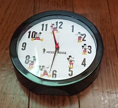 Photos: steady. ミッキーマウス アラーム機能付き置き時計