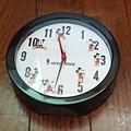 steady. ミッキーマウス アラーム機能付き置き時計