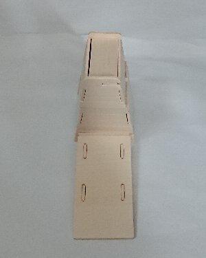ウッドクラフト学校 跳び箱とロイター板