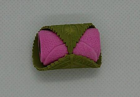カラフルけしゴム 桜餅