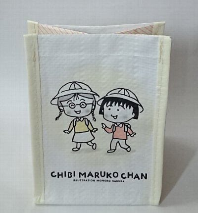 3COINS and CHIBI MARUKO CHAN 小分けBAG 3枚セット