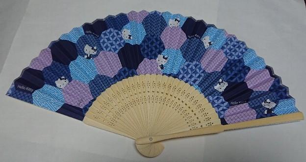 洋服の青山 ハローキティ オリジナル扇子 2020