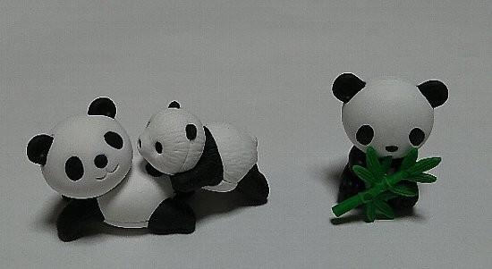 おもしろ消しゴム パンダ2