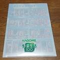 Photos: KAGOME 野菜生活100 クリアファイル