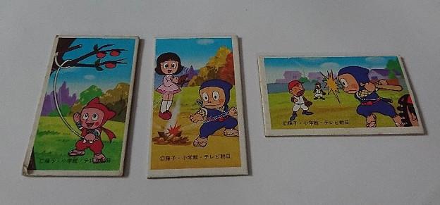 Photos: めんこ 忍者ハットリくん 怪物くん