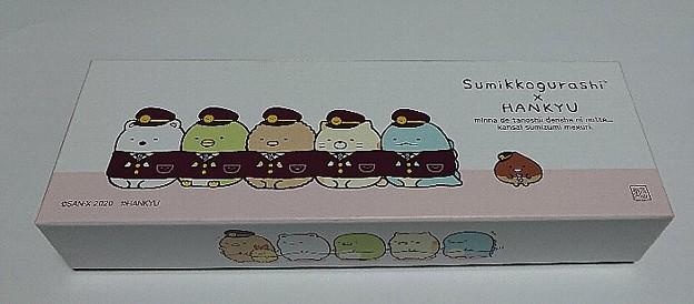 すみっコぐらし×阪急電車 すみっコぐらしのもなか(オリジナル化粧箱入り)