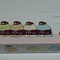 Photos: すみっコぐらし×阪急電車 すみっコぐらしのもなか(オリジナル化粧箱入り)