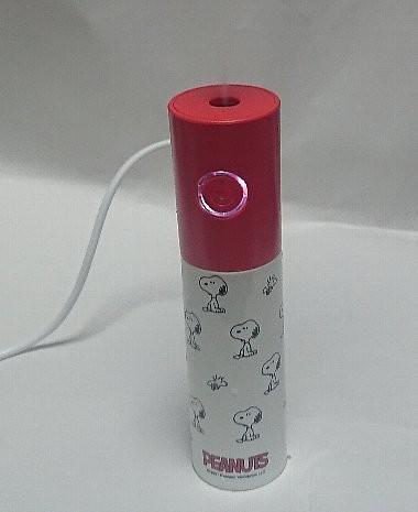 SPRiNG 乾燥に負けない!スヌーピー卓上USB加湿器