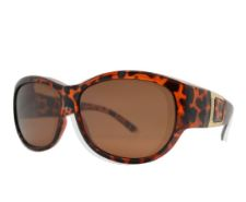 PL 7623 - Women's Large Oval Fit Over Polarized Sunglasses
