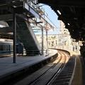 写真: 代々木八幡駅構内 2018年4月28日現在の様子
