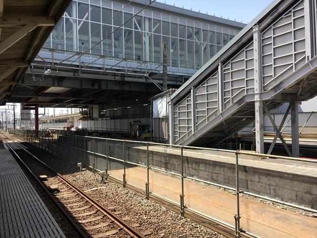 高柳駅 2018年4月29日現在の様子