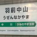 Photos: 羽前中山駅 Uzen-Nakayama Sta.