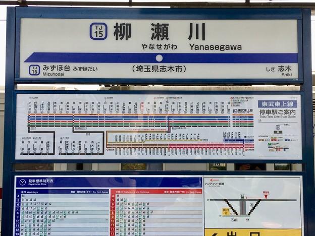 柳瀬川駅 Yanasegawa Sta.