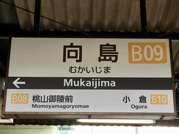 向島駅 Mukaijima Sta.